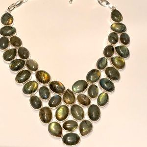 NEW! Labradorite Necklace